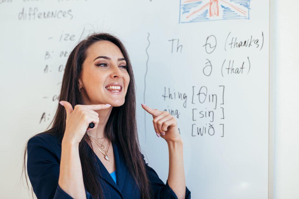 Improve the pronunciation
